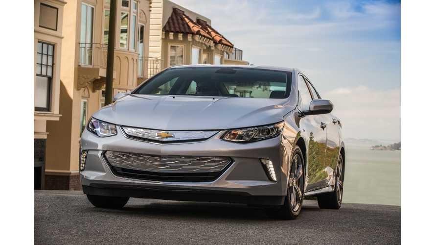 Chevy Volt Was A Huge Success In Certain Areas Of U.S.