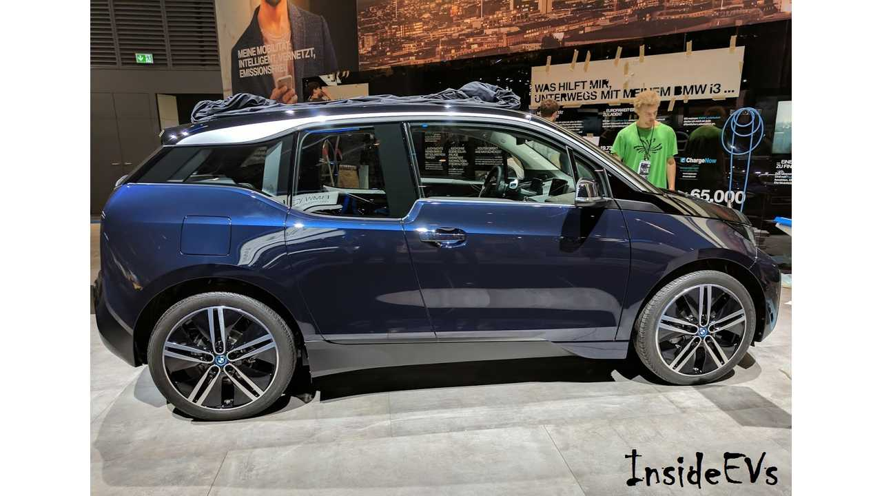 2018 BMW i3s from the 2017 IAA