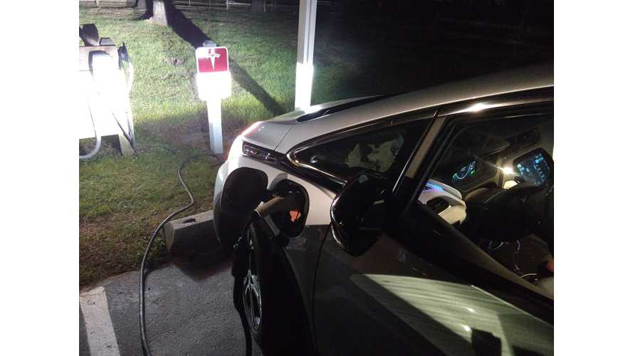 Op-Ed: Charging A Bolt EV At A Tesla Destination Station? Sure You Can!