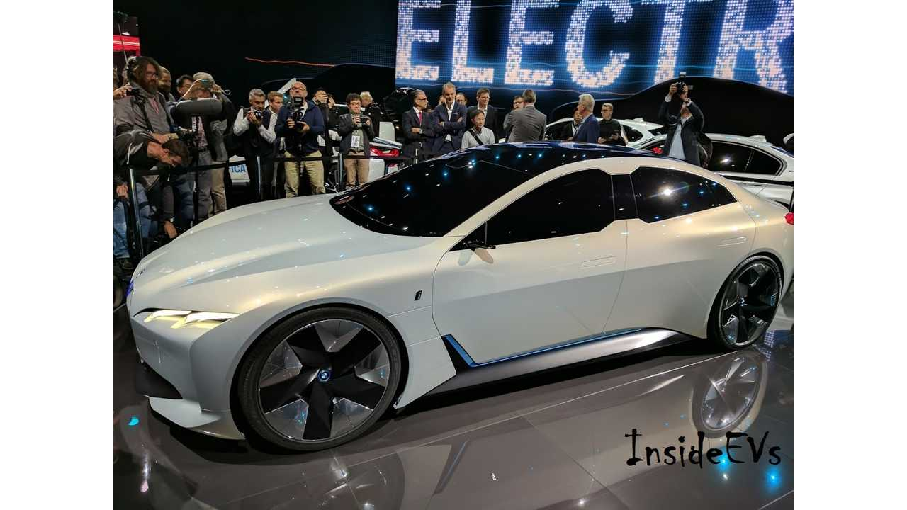 BMW CEO Says Electric Mobility Is Brand's