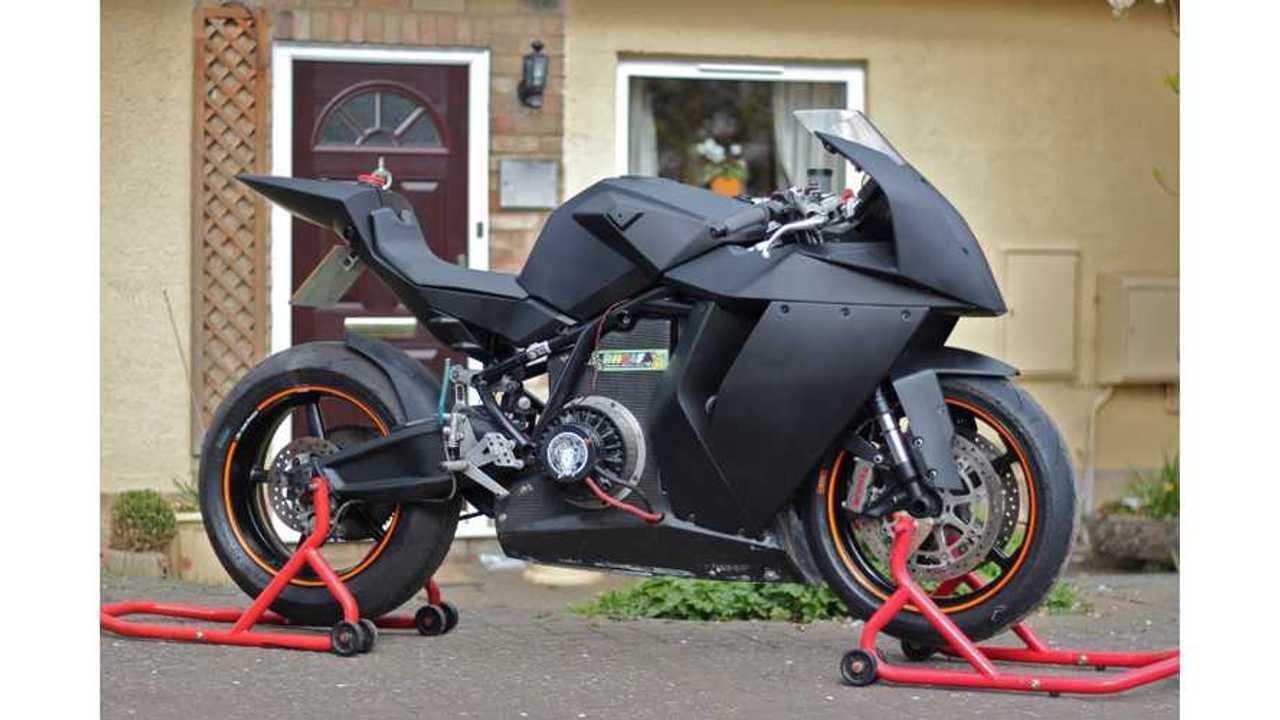 Electric Race Bike for Sale: Mavizen TTX02 on Ebay