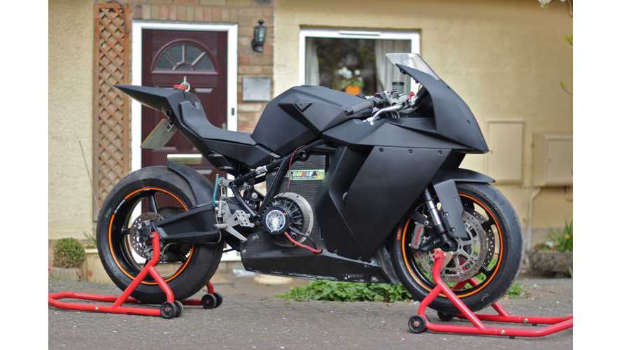 Electric Race Bike for Sale: Mavizen TTX02 on Ebay