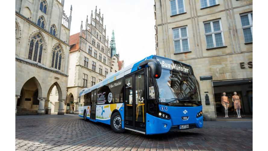 Stadtwerke Münster Introduces Electric Bus Fleet Capable Of 500 kW Charging
