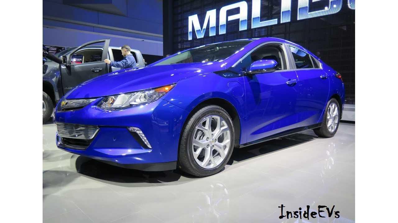 MotorTrend: 2016 Chevrolet Volt Zips From 0 To 60 MPH In 7.1 Seconds