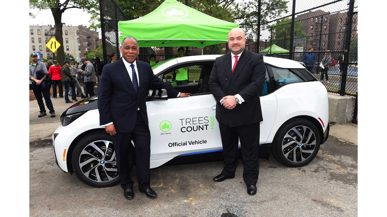 Trees Count BMW i3