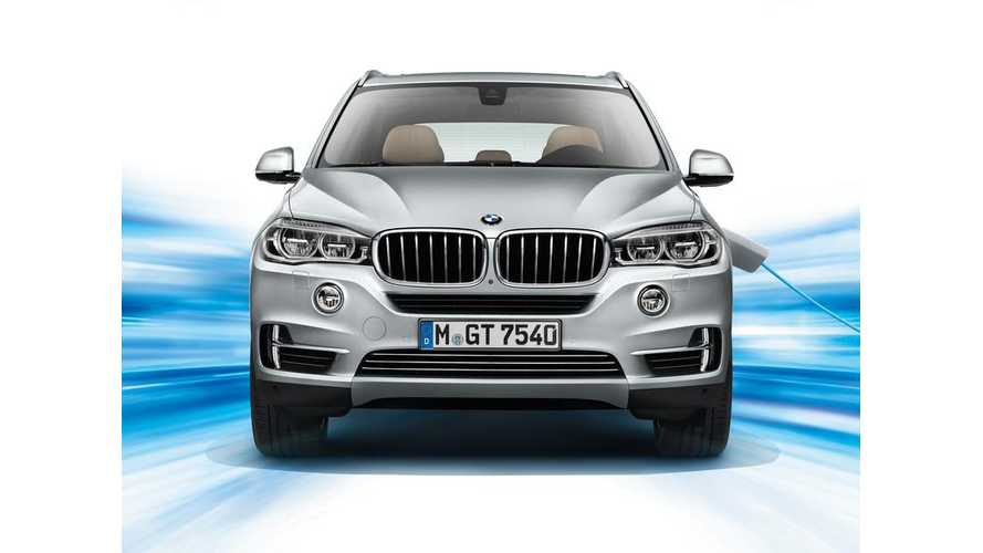 BMW X5 xDRIVE40e Coming To US This Fall, 13 Mile EPA Range, 55 MPGe