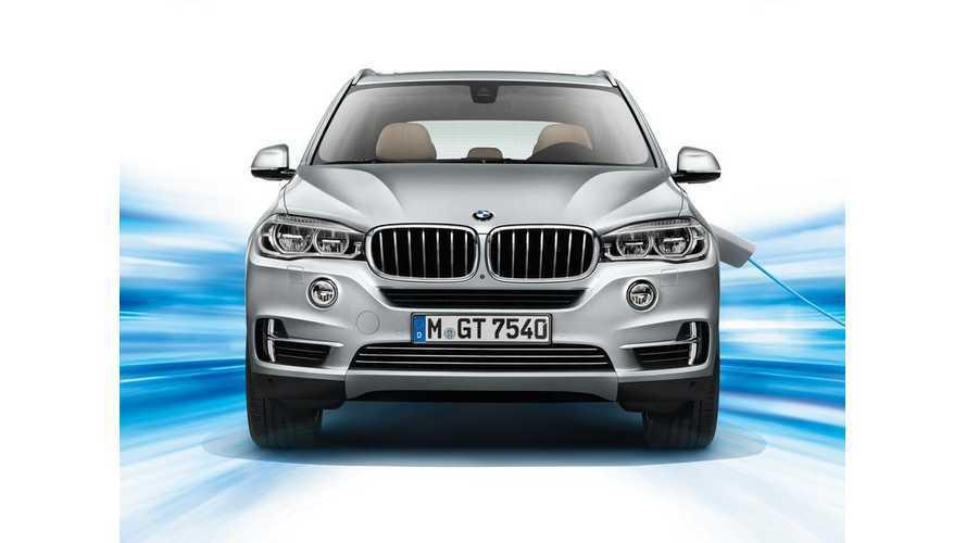 BMW X5 xDRIVE40e Coming To US This Fall, 13 Mile EPA Range, 55 MPGe