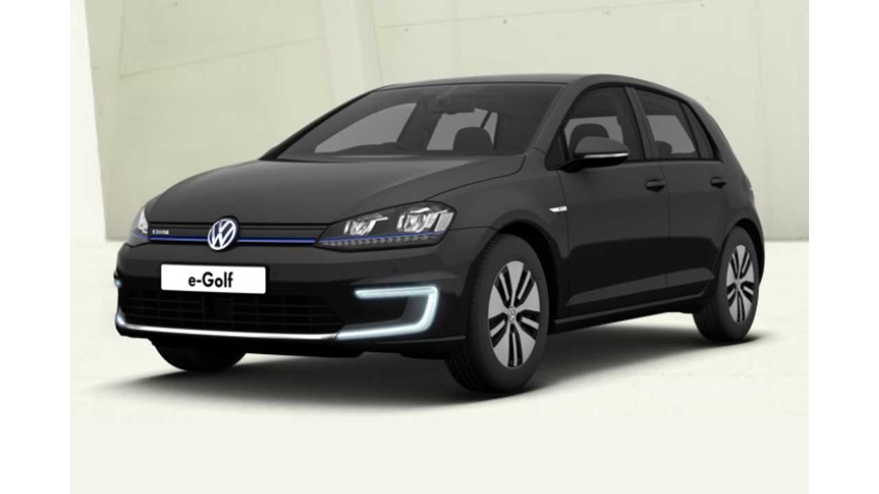 Volkswagen e-Golf Comes To The US In November