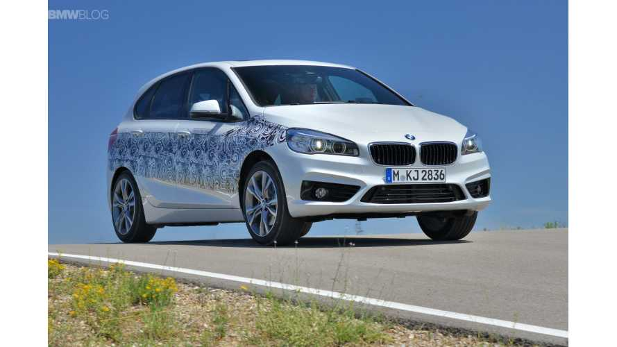 BMW 225xe Active Tourer To Launch In 2016