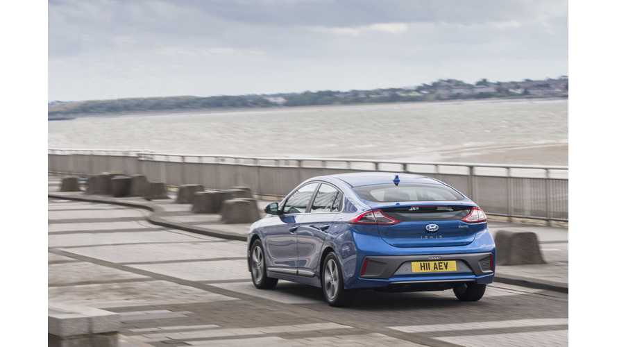 Hyundai IONIQ Electric Charges 50% Quicker From 175 kW Charger