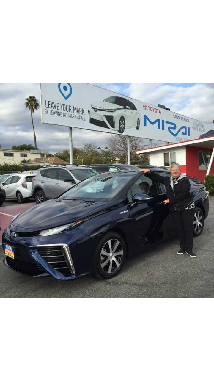 CARB Chair And Her Love Of The Toyota Mirai and Fuel Cell Tech