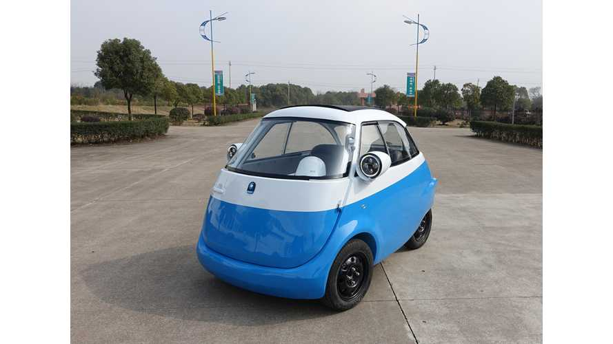 BMW Isetta Reborns In Geneva As Sweet Looking Microlino (w/videos)
