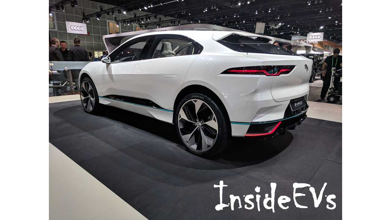 I-Pace In LA - Image Credit: InsideEVs/Tom Moloughney
