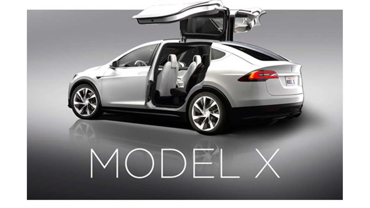 Tesla Updates Model X:  Prototypes In Fall, Production Early 2015 - 3rd Row Now An Option