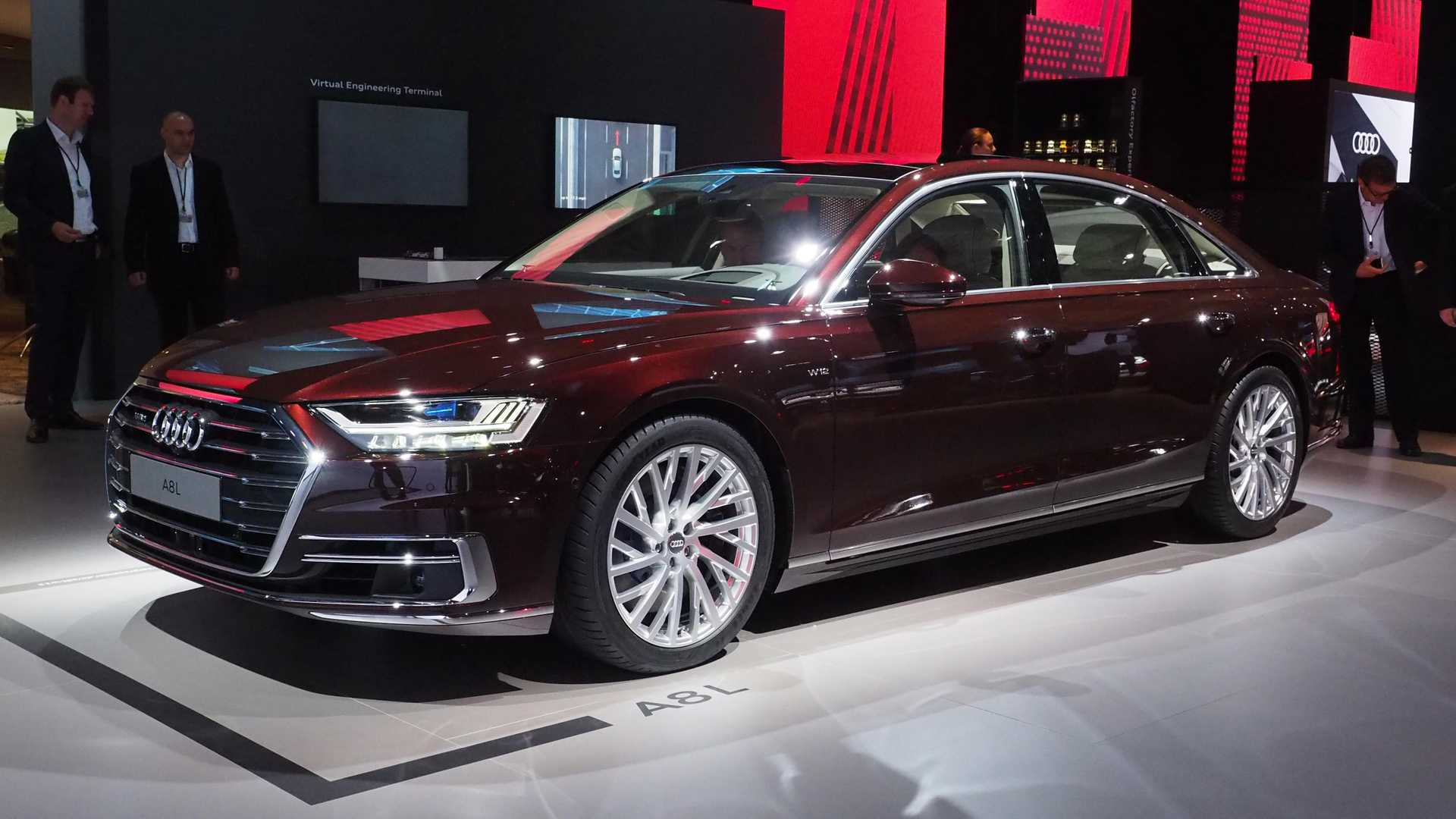 2020 Audi A8 L In Usa Images