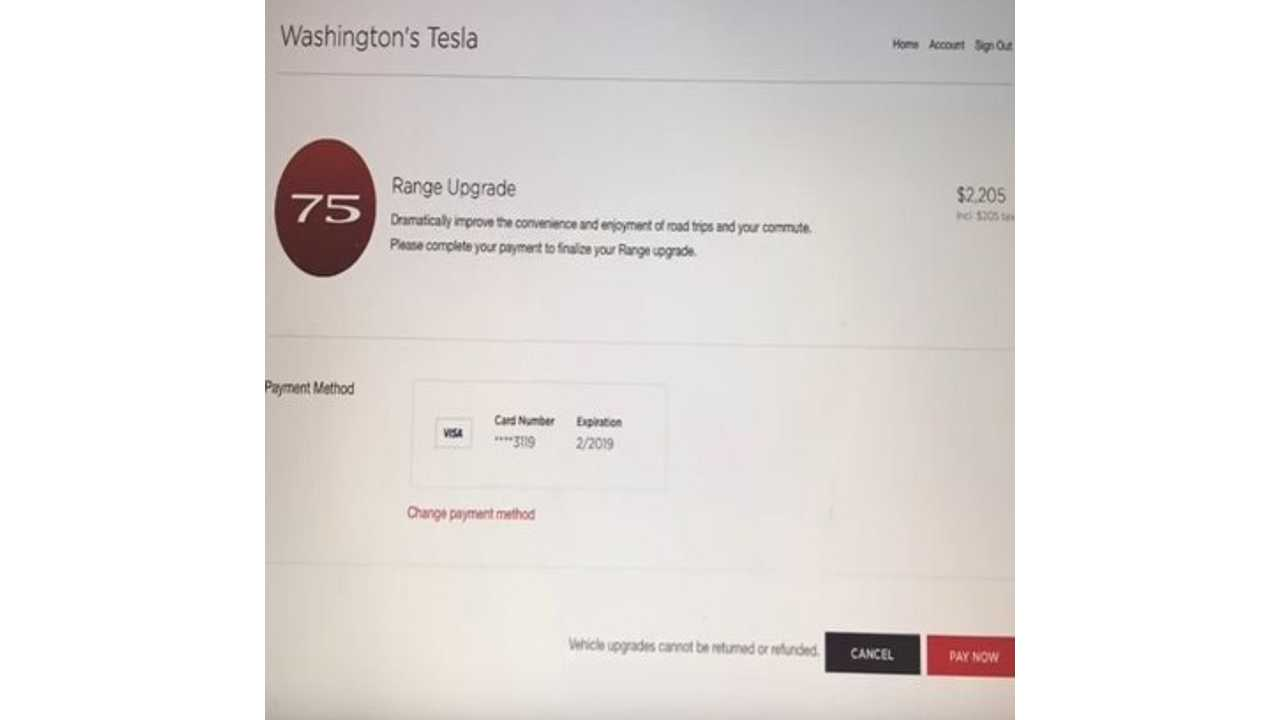 Watch This Tesla Model S 60 Get Upgraded To 75 For $2,205