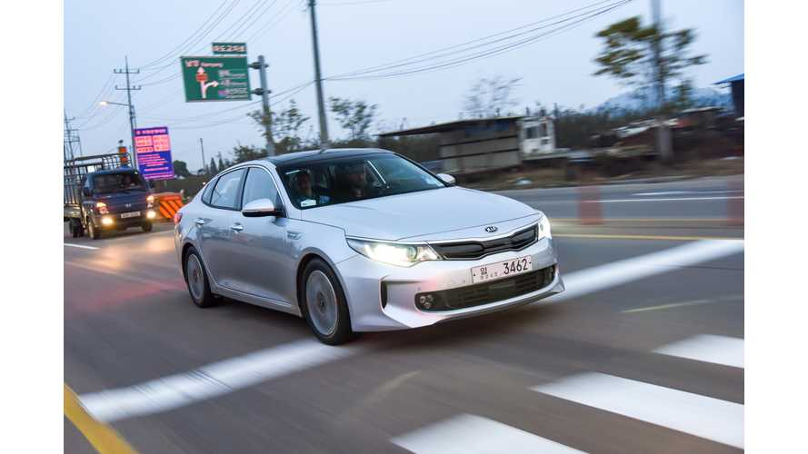 Kia Optima PHEV Test Drive Review
