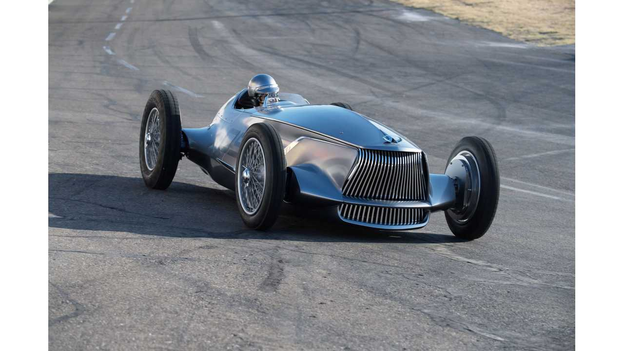 Infiniti Prototype 9: Extensive Gallery and Videos Of The Cool Retro EV
