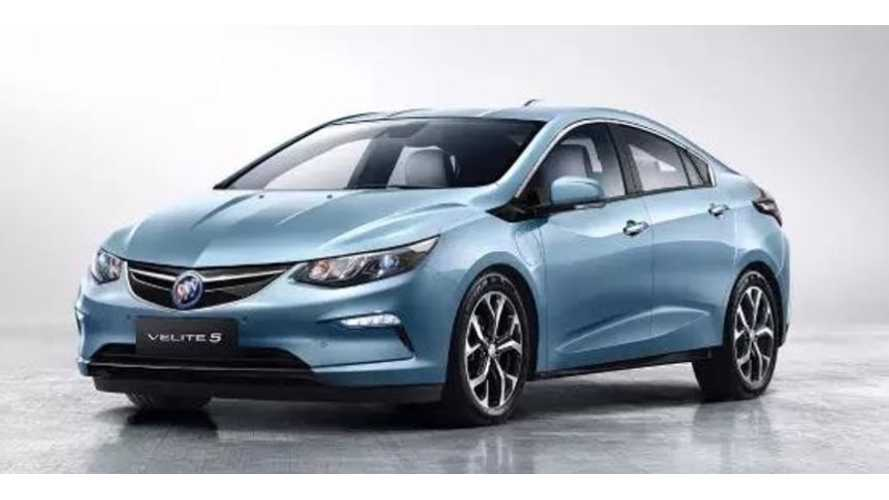 Leaked Buick Velite 5 Image Proves It's A Chevrolet Volt For China