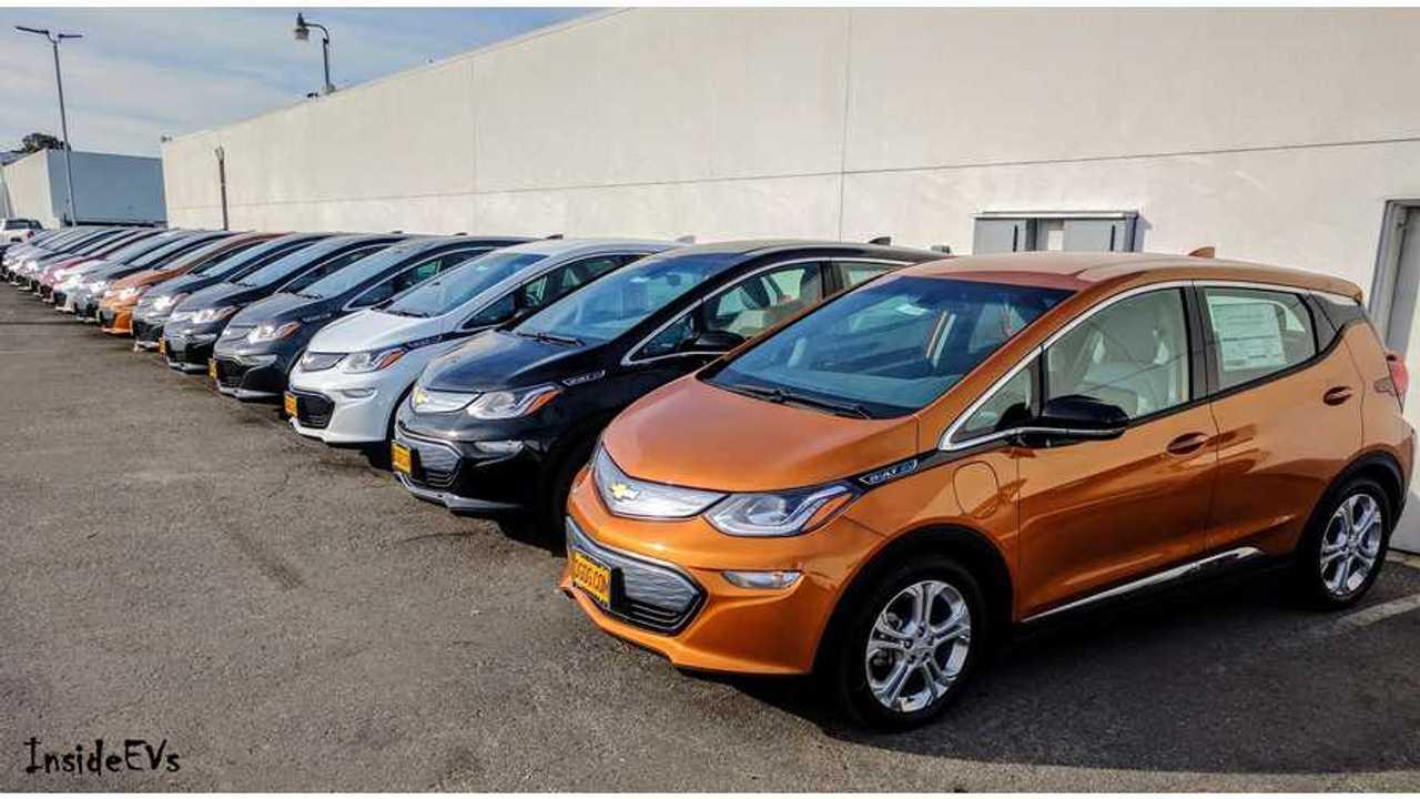 Chevrolet Bolt EV And Volt Sales Flatten In April Despite More Inventory
