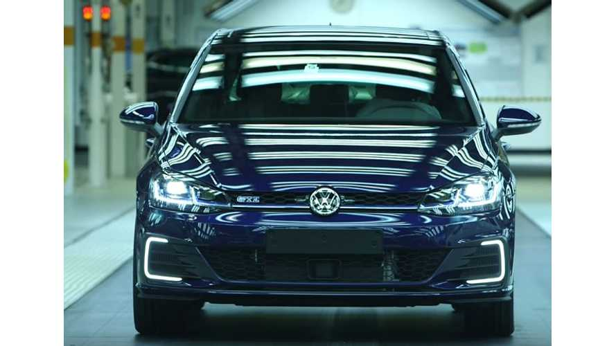 Volkswagen's 150 Millionth Vehicle Produced Is A Golf GTE PHEV