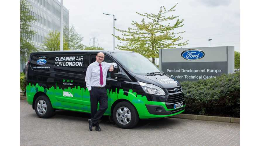 Ford Announces 5 Transit Custom Plug-In Hybrid Van Testing Fleets