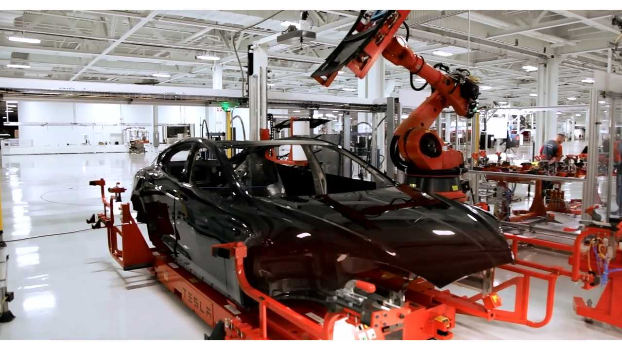 500,000 Tesla EVs Rolling Off The Line By 2020?