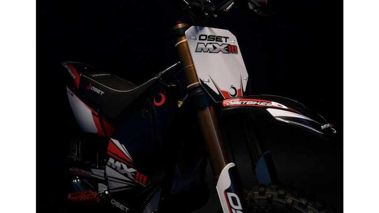 OSET Breaks Out Full-Sized Motocrosser: MX-10 Electric Motorcross Bike (w/videos)