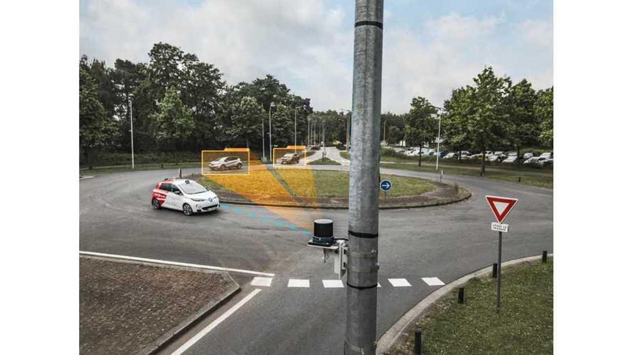 Renault ZOE in Rouen Normandy Autonomous Lab On-Demand Mobility Service