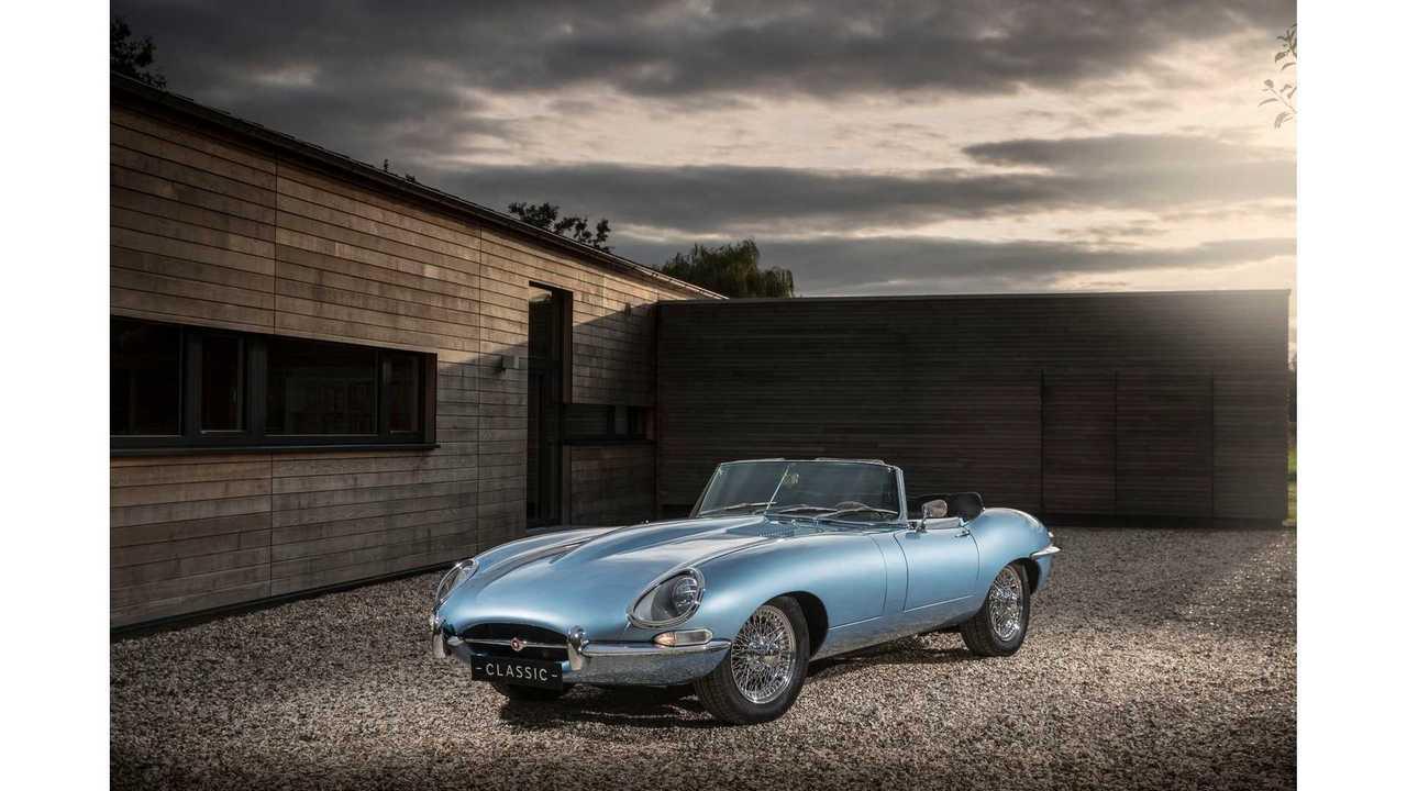 Jaguar E-Type To Go Electric As Concept Gets Production Nod