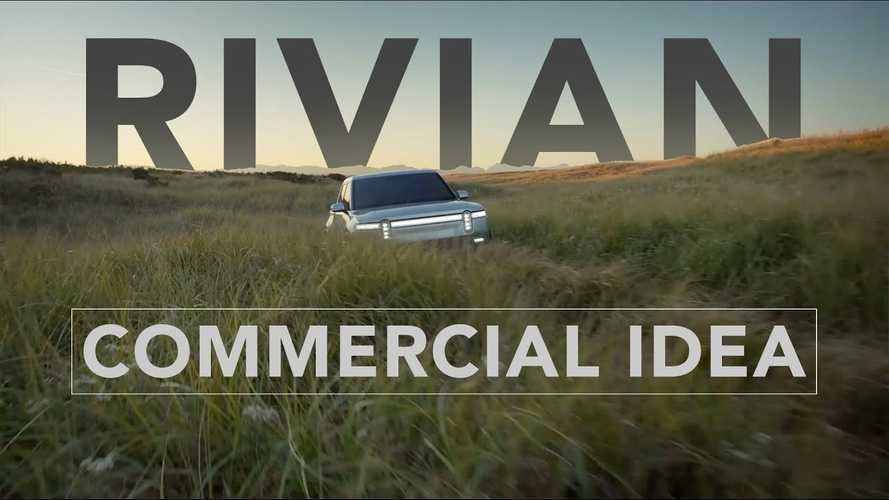Fan Commercial Rocks Out Rivian R1T Electric Truck Footage