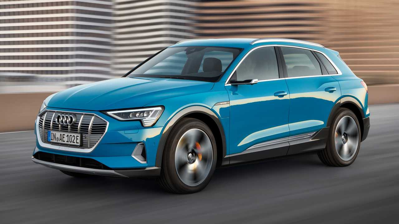 Audi e-tron SUV and Sportback