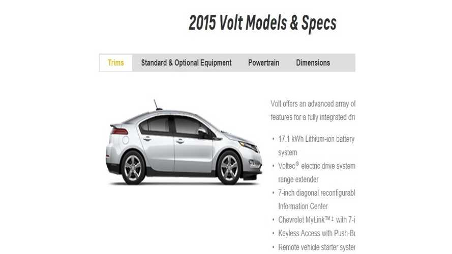 BREAKING: 2015 Chevy Volt Gets 17.1 kWh Battery Pack
