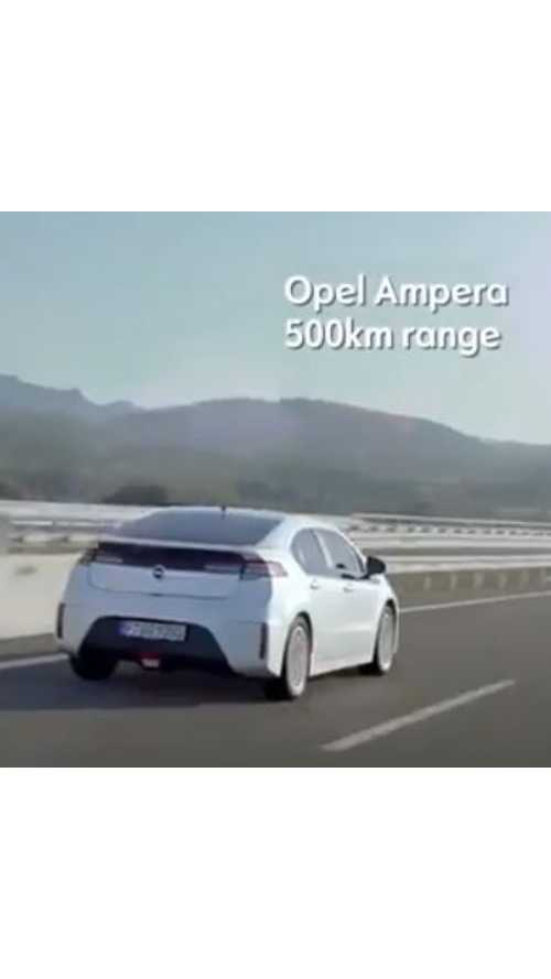 Opel Ampera Commercial - Range Claims Taken To The Extremes