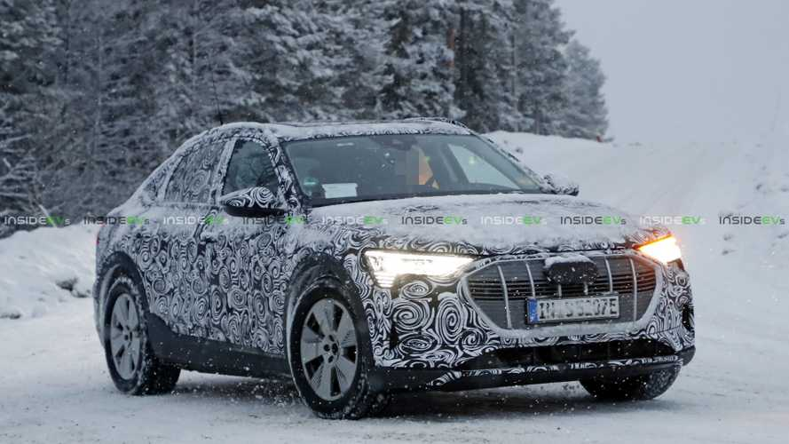 More Audi E-Tron Sportback Electric Spy Photos Surface