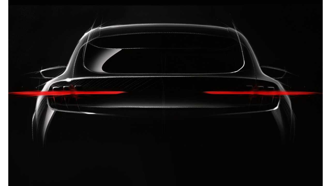 Ford Teases 2020 Mustang-Inspired Electric CUV With 300-Mile Range