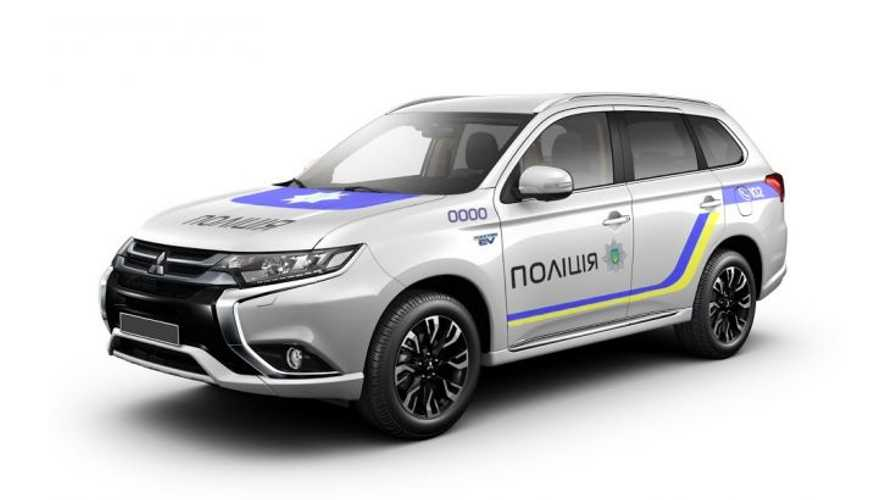 Police Force Adds 651 Mitsubishi Outlander PHEVs - But You'll Never Guess Which One