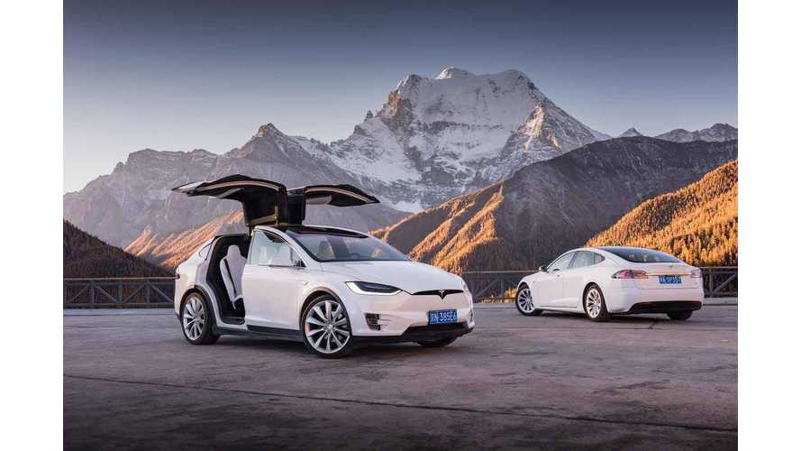 Tesla Owners Summit World's Highest Plateau, A First For Electric Cars