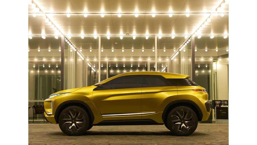 Mitsubishi Shows Off Long-Range eX Electric SUV Concept In LA (Update)