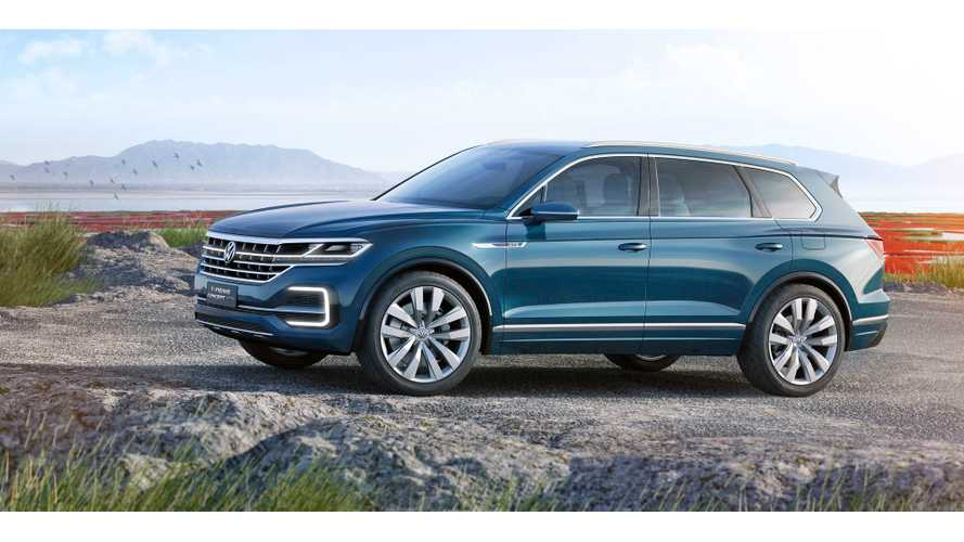 Volkswagen Debuts Plug-In Hybrid SUV - The T-Prime Concept GTE