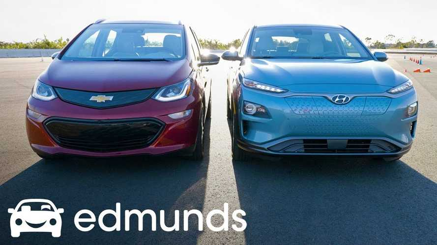 Edmunds Compares Hyundai Kona Electric To Chevy Bolt
