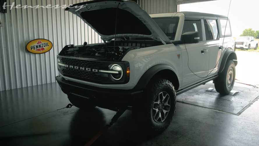 Tes Dyno Ford Bronco V6 2021 Tunjukkan Angka Mengesankan