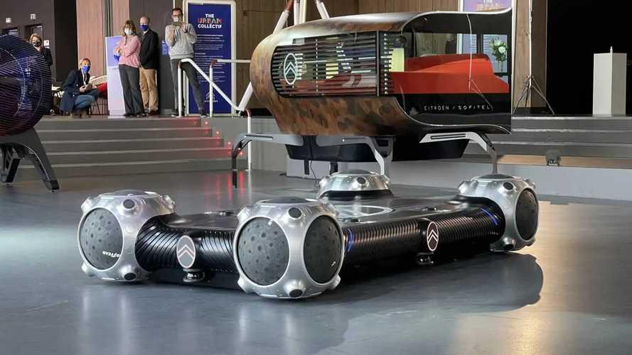 Citroën réinvente la roue et transforme l'auto en... skateboard !