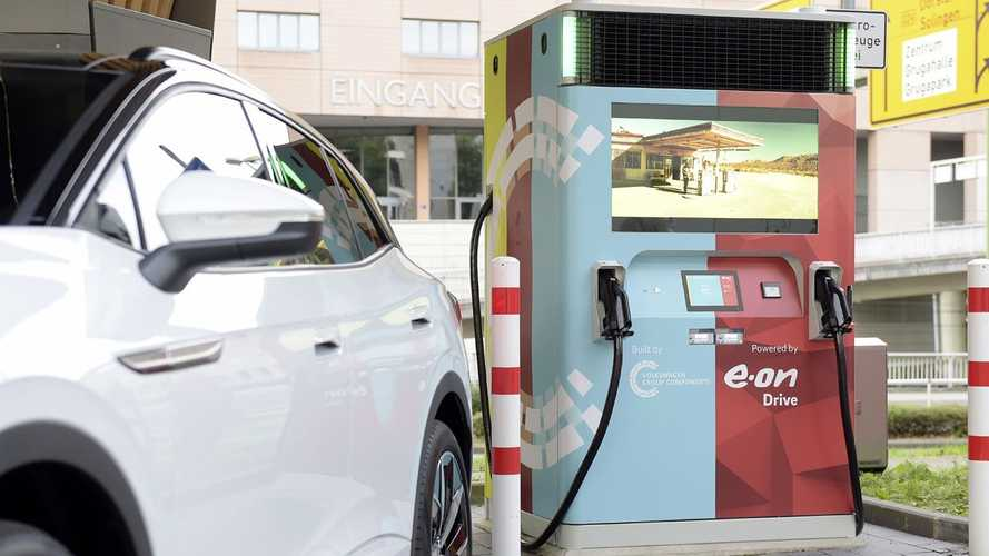 Volkswagen Champions New Plug-And-Play E.On EV Charging Stations