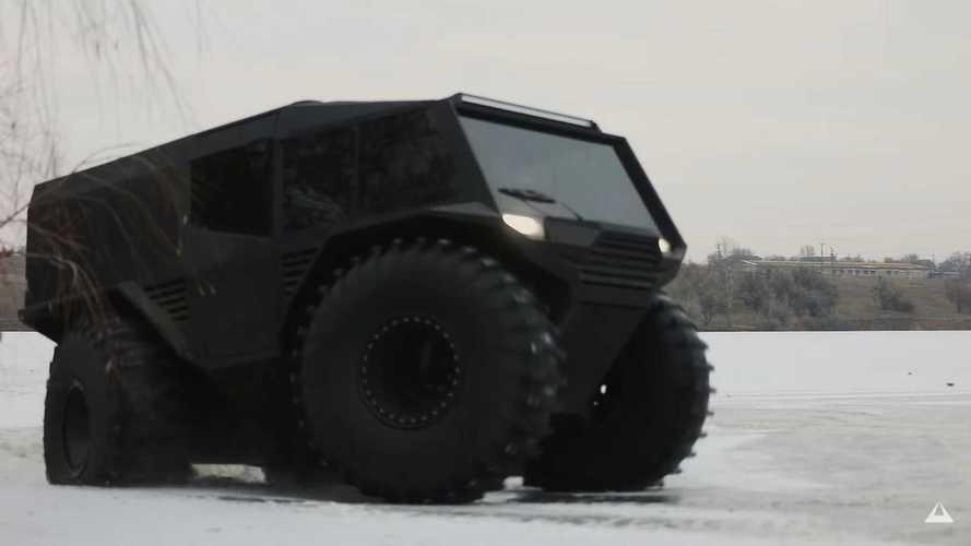 Atlas ATV: el todoterreno extremo con motor Renault
