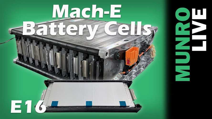 Ford Mustang Mach-E Teardown: Battery Tray, Modules And Cells