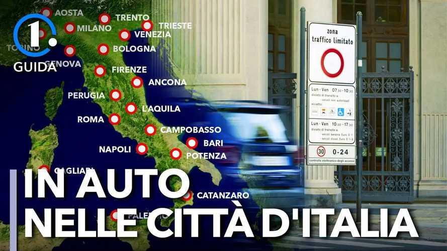 Quanto costa muoversi in auto nelle città italiane