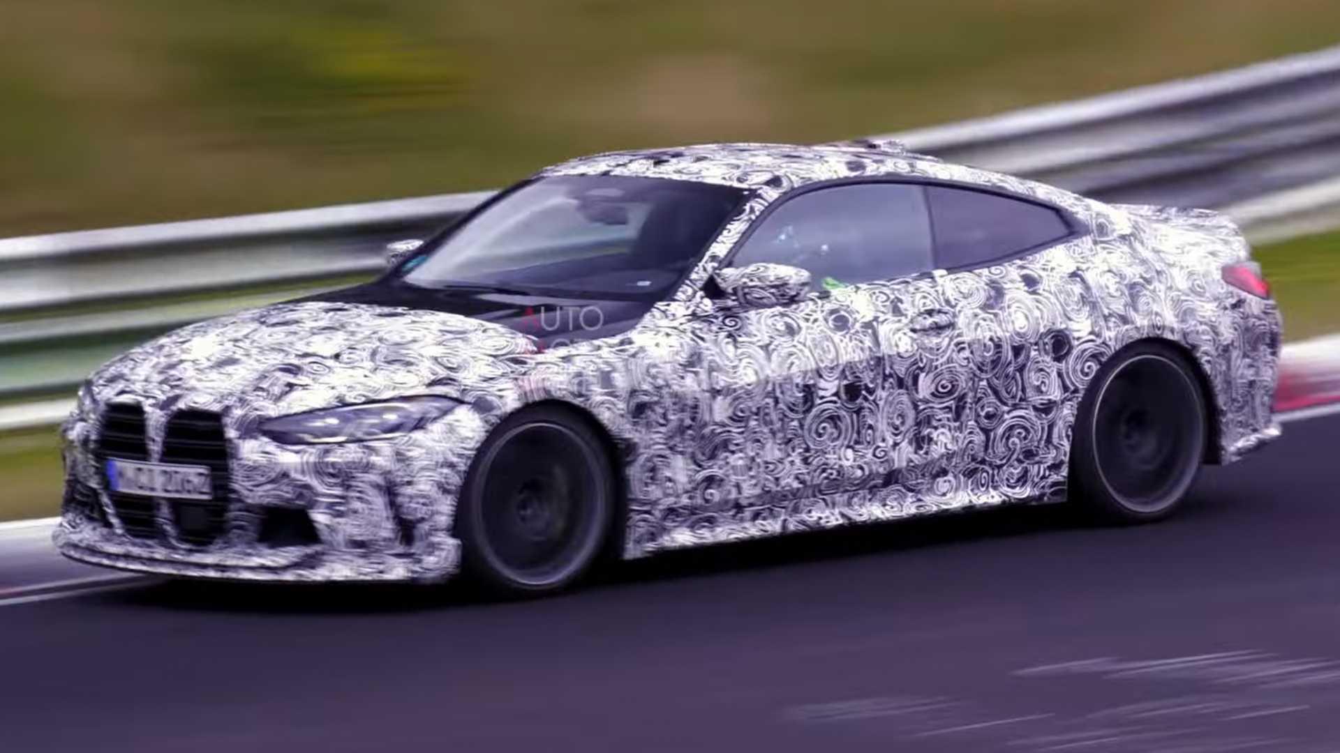 New BMW M4 CSL Sounds Menacing In Nurburgring Spy Video - Motor1