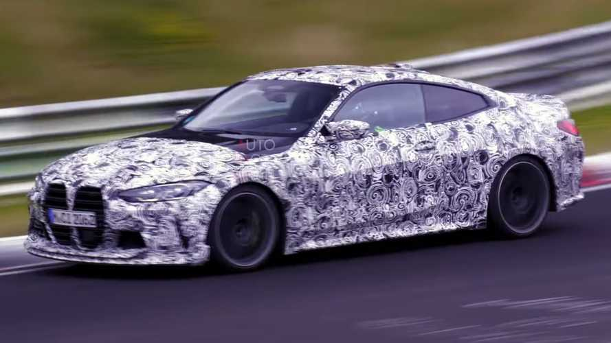 Yeni BMW M4 CSL, Nürburgring sakinlerine serenat yaptı