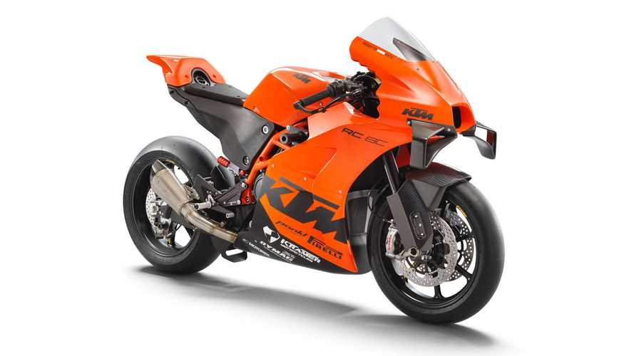 KTM Is Back In The Superbike Business With The All-New RC 8C